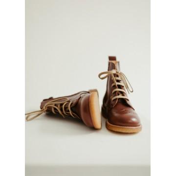 Ботинки броги на шнурках Lace-up Brown Angulus