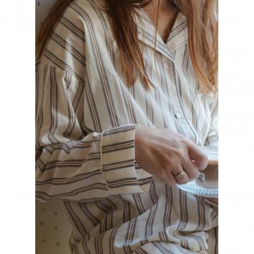 Купить - Пижама Mommy Strands Havet Vintage Stripe