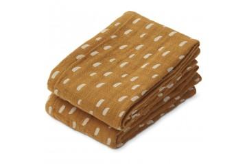 Муслиновые пеленки Lewis  2 pack Caramel