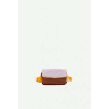 Купить - Поясная сумка Fanny Pack Small Chocolate Yellow