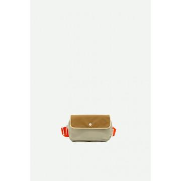 Купить - Поясная сумка Fanny Pack Small Green Red