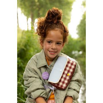 Купить - Поясная сумка Fanny Pack Small Gingham